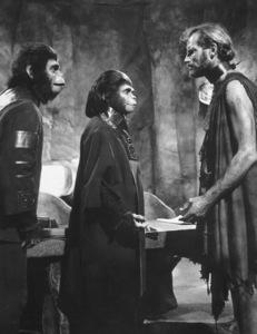 """Planet Of The Apes""Roddy McDowall, Kim Hunter, Charlton Heston1968 20th Cent. Fox **I.V. - Image 9436_0060"
