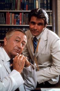 """Marcus Welby, M.D.""Robert Young, James Brolin1969 ABC © 1978 Gene TrindlMPTV - Image 9446_0018"