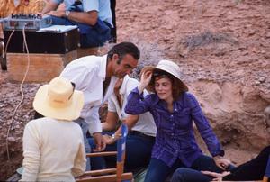 """Diamonds Are Forever,""Sean Connery, Jill St. John1971 UA/MPTV © 1978 Gunther - Image 9450_0023"