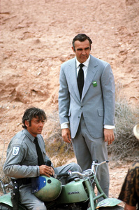"""""""Diamonds Are Forever"""" Sean Connery1971 UA © 1978 Gunther - Image 9450_0025"""