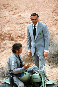 """""""Diamonds Are Forever"""" Sean Connery1971 UA © 1978 Gunther - Image 9450_0026"""