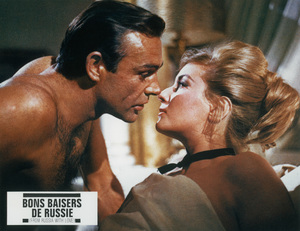 """From Russia With Love""Sean Connery, Daniela Bianchi © 1963 United Artists - Image 9451_0001"