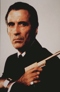 """The Man With The Golden Gun,""Christopher Lee1974 UA /MPTV - Image 9453_0003"