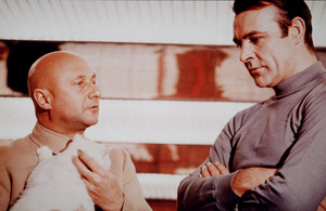 """You Only Live Twice,""Donald Pleasance, Sean Connery1967 UA/ MPTV - Image 9454_0001"