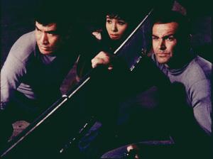 """You Only  Live Twice,""Tetsuro Tamba,  Mie Hama, Sean Connery1967 UA / MPTV - Image 9454_0003"