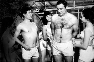 """You Only Live Twice,""Tetsuro Tamba, Sean Connery © 1967 UA / M PTV - Image 9454_0019"