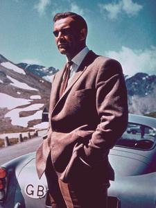 """Goldfinger,"" Sean Connery1964 UA/ MPTV - Image 9455_0003"