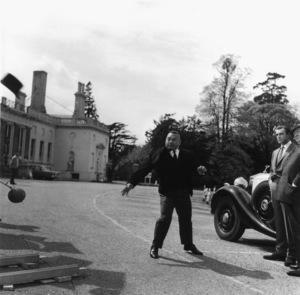 """Goldfinger""Harold Sakata, Sean Connery1964 United Artists** I.V. - Image 9455_0080"