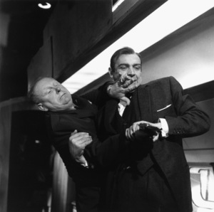 """Goldfinger""Gert Frobe, Sean Connery1964 United Artists** I.V. - Image 9455_0084"