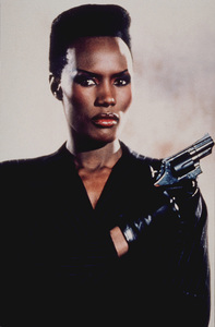 """A View To A Kill,"" Grace Jones © 1985 MGM / MPTV - Image 9456_0006"