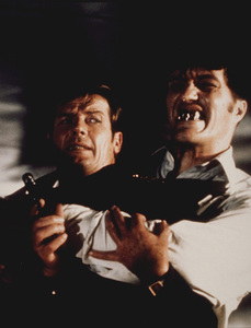 """The Spy Who Loved Me,""Roger Moore, Richard Kiel1977 UA / MPTV - Image 9457_0001"