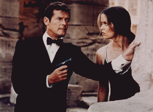 """The Spy Who Loved Me,""Roger Moore, Barbara Bach1977 UA / MPTV - Image 9457_0002"
