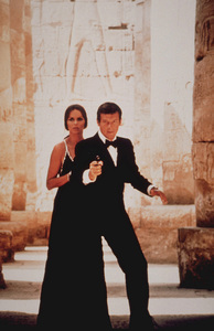 """The Spy Who Loved Me,""Barbara Bach, Roger Moore1977 UA / MPTV  - Image 9457_0003"