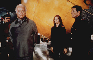 """The Spy Who Loved Me, ""Curt Jurgens, Barbara BAch, Roger Moore1977 UA / MPTV - Image 9457_0005"