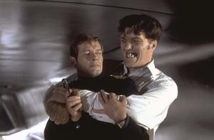 "Roger Moore and Richard Kiel in ""The Spy Who Loved Me""1977 United Artists** I.V. - Image 9457_0014"