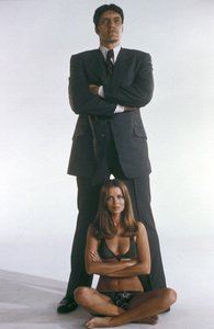 "Barbara Bach and Richard Kiel in ""The Spy Who Loved Me""1977 United Artists** I.V.C. - Image 9457_0015"
