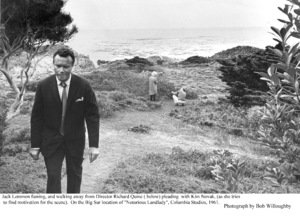 """Notorious Landlady""Jack Lemmon, Kim Novak, Dir. Richard Quine1962 Columbia © 1978 Bob Willoughby - Image 9459_0037"