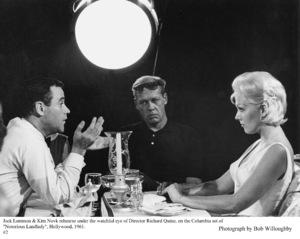 """Notorious Landlady""Jack Lemmon, Dir. Richard Quine, Kim Novak1962 Columbia © 1978 Bob Willoughby - Image 9459_0038"