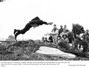 """Notorious Landlady""Jack Lemmon doing his own stunts.1962 Columbia © 1978 Bob Willoughby - Image 9459_0039"