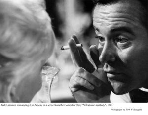 """Notorious Landlady""Kim Novak, Jack Lemmon1962 Columbia © 1978 Bob Willoughby - Image 9459_0041"