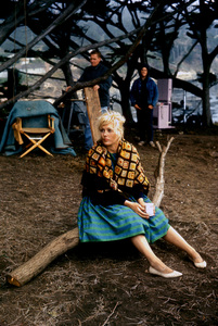 """The Notorious Landlady""Kim Novak as waif on location1961 © 1978 Bob Willoughby - Image 9459_0058"
