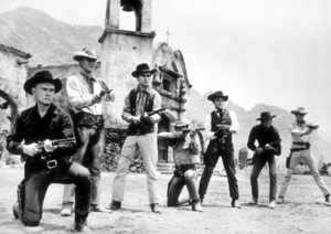 """Magnificent Seven, The""Y. Brynner, S. McQueen, H. Bucholz,R. Vaughn, C. Bronson, J. Coburn, B. Dexter1960 UA*R.C.*MPTV - Image 9461_0013"