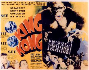 """""""King Kong""""Lobby Card 1933 RKO - Image 9462_0005"""