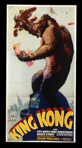 """King Kong""Poster1933 RKO**I.V. - Image 9462_0008"