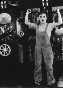 Charlie ChaplinFilm SetModern Times (1936)Photo by Max M. Autrey0027977**I.V. - Image 9463_0003