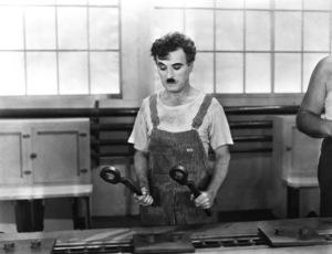 """Modern Times""Charlie Chaplin1936Photo by Daniel Stern**I.V. - Image 9463_0005"