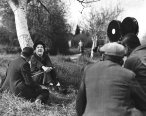 """Modern Times""Charlie Chaplin and crew with Alf Reeves1936Photo by Max Munn Autrey**I.V. - Image 9463_0006"