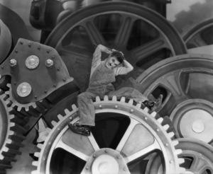 """Modern Times""Charles Chaplin1936 United Artists**I.V. - Image 9463_0013"