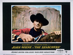 """The Searchers,"" Warner Bros. 1956.Lobby card - Image 9466_0001"