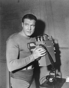 """The Adventures of Superman""George ReevesC. 1956 - Image 9478_0002"