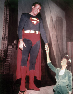 """The Adventures of Superman""George Reeves, Noel Neilcirca 1956 - Image 9478_0009"