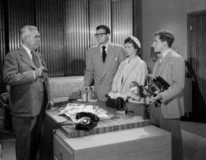 """Adventures of Superman""John Hamilton, George Reeves, Phyllis Coates, Jack Larsoncirca 1952** I.V.C. - Image 9478_0014"