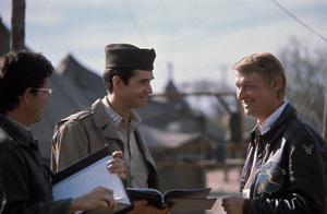 """""""Catch-22""""Anthony Perkins, Director Mike Nichols1970 Paramount © 1978 Bob Willoughby - Image 9488_0006"""