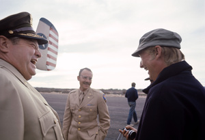 """""""Catch-22""""Orson Welles, Buck Henry, director Mike Nichols1969© 1978 Bob Willoughby - Image 9488_0096"""