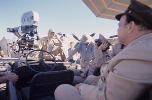 """Catch-22""Director Mike Nichols, Austin Pendleton, Orson Welles1969© 1978 Bob Willoughby - Image 9488_0098"