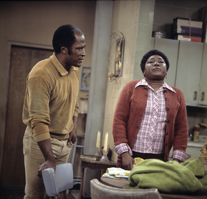 """""""Good Times""""John Amos, Esther Rolle1974** H.L. - Image 9495_0015"""