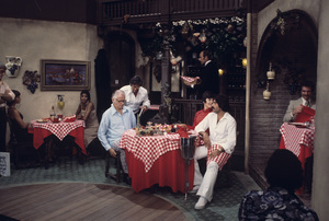 """Tony Orlando and Dawn""Art Carney, Tony Orlando1974Photo by Gabi Rona - Image 9497_0014"