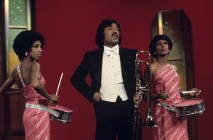 """""""Tony Orlando and Dawn""""Joyce Vincent Wilson, Tony Orlando, Telma Hopkins1976Photo by Gabi Rona - Image 9497_0018"""