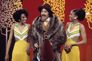 """Tony Orlando and Dawn""Joyce Vincent Wilson, Tony Orlando, Telma Hopkins1976Photo by Gabi Rona - Image 9497_0019"