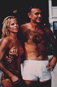 """Never Say Never Again,""Kim Basinger, Sean Connery © 1983 UA / MPTV - Image 9504_0002"
