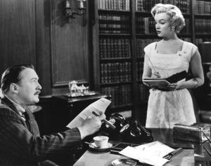 """As Young As You Feel"" Albert Dekker, Marilyn Monroe 1951 20th Century Fox ** R.C. - Image 9549_0003"