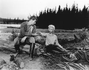 """River Of No Return""Robert Mitchum, Marilyn Monroe, Tommy Rettig1954 / 20th Century Fox**R.C. - Image 9550_0004"
