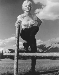 """River Of No Return""Marilyn Monroe1954 / 20th Century Fox**R.C. - Image 9550_0022"