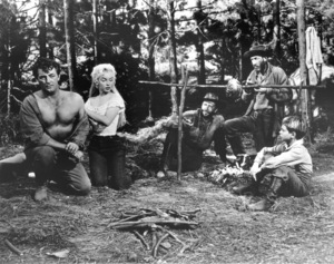 """River Of No Return""Robert Mitchum, Marilyn Monroe, Tommy Rettig1954 / 20th Century Fox**R.C. - Image 9550_0024"