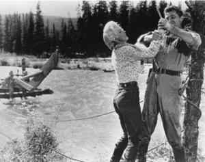 """River Of No Return""Marilyn Monroe, Robert Mitchum1954 / 20th Century Fox**R.C. - Image 9550_0032"