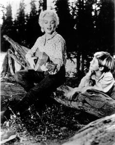 """River Of No Return""Marilyn Monroe, Tommy Rettig1954 / 20th Century Fox**R.C. - Image 9550_0037"